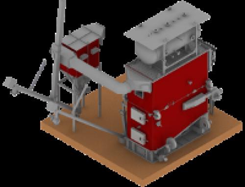 BINDER liefert 2,1 MW Dampfkessel nach Frankreich